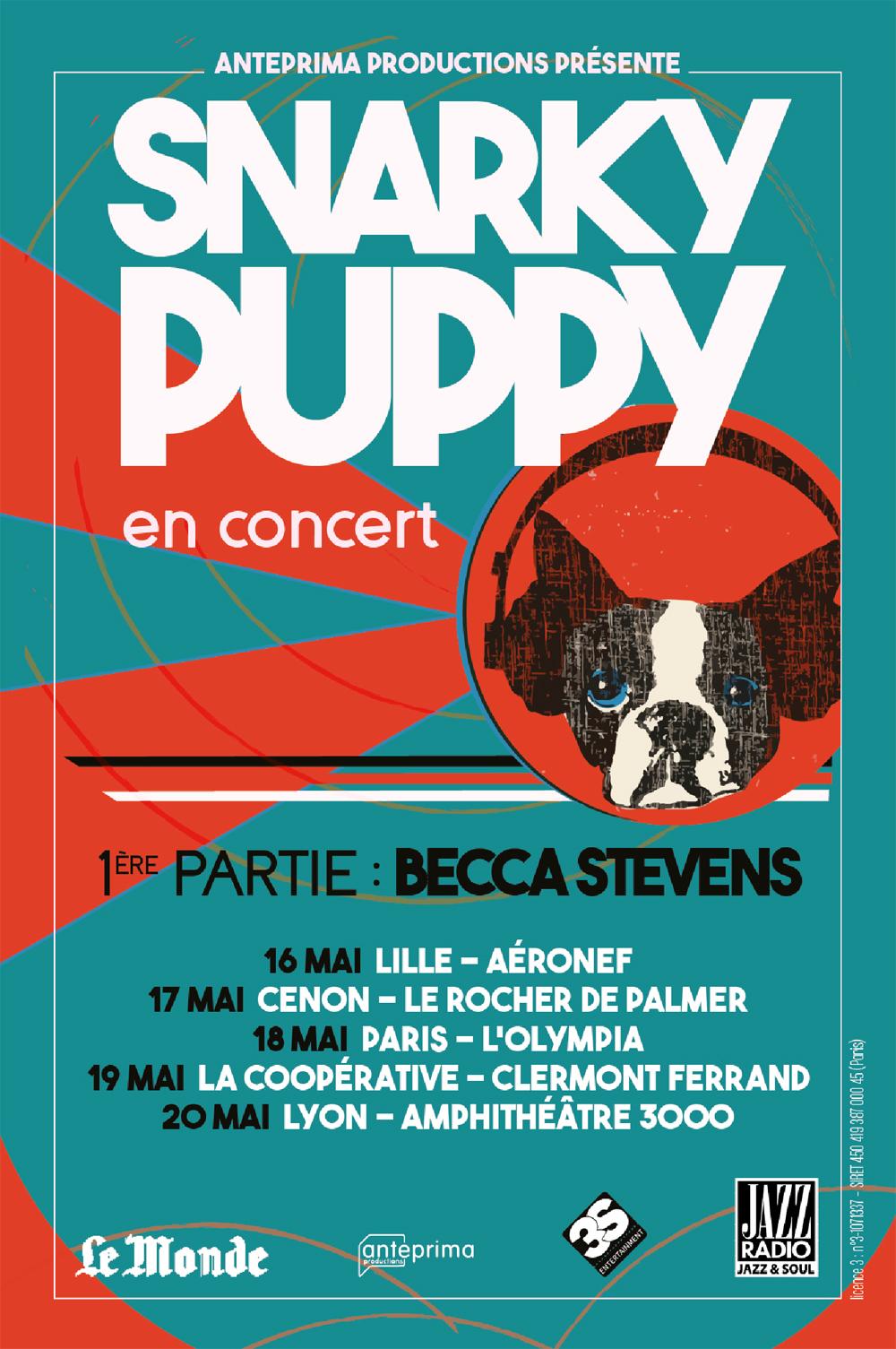 Snarky Puppy, tournée, Becca Stevens