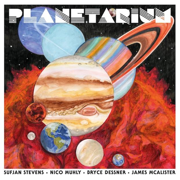 Sufjan Stevens, Bryce Dessner, Nico Muhly, James McAlister - Saturn