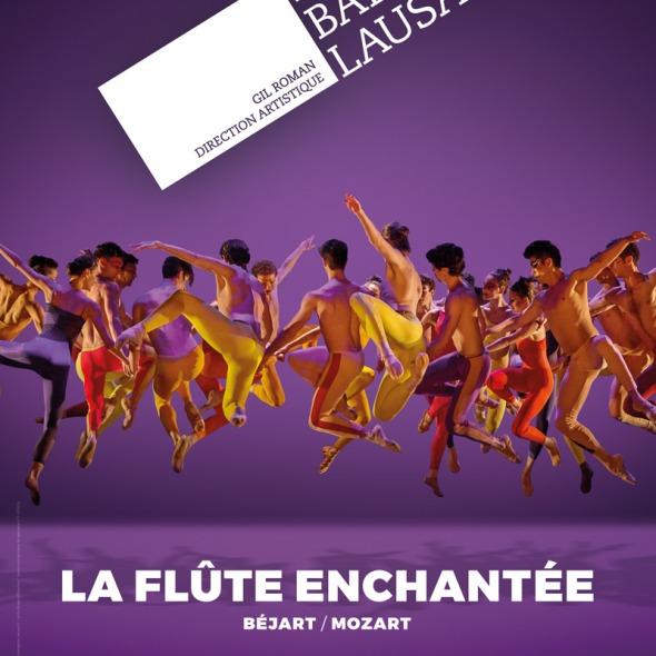 Le Béjart Ballet Lausanne au Palais des Congrès à Paris pour la La Flûte Enchantée.