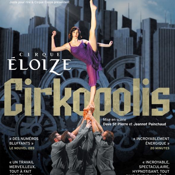 Cirkopolis du Cirque Eloize à Paris au 13ème art dès le 05 octobre