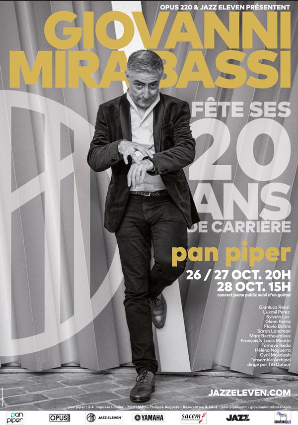 Giovanni Mirabassi - 20 ans de carrière