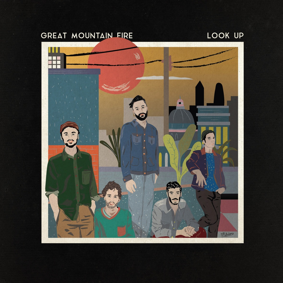 Great Mountain Fire - Look Up