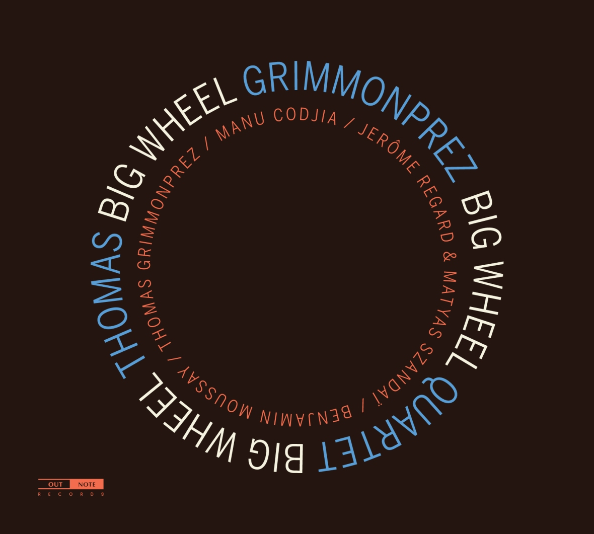 Thomas Grimmonprez Quartet - Big Wheel
