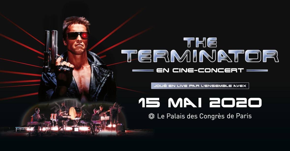 Terminator en ciné-concert au Palais des Congrès de Paris le 15 mai 2020