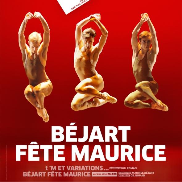 Béjart Fête Maurice à Paris, au Palais des Congrès du 26 au 29/02/2020