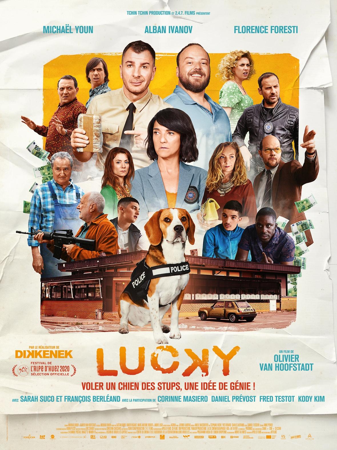 Agoria a composé la BO du film français Lucky avec Michael Youn et Florence Foresti