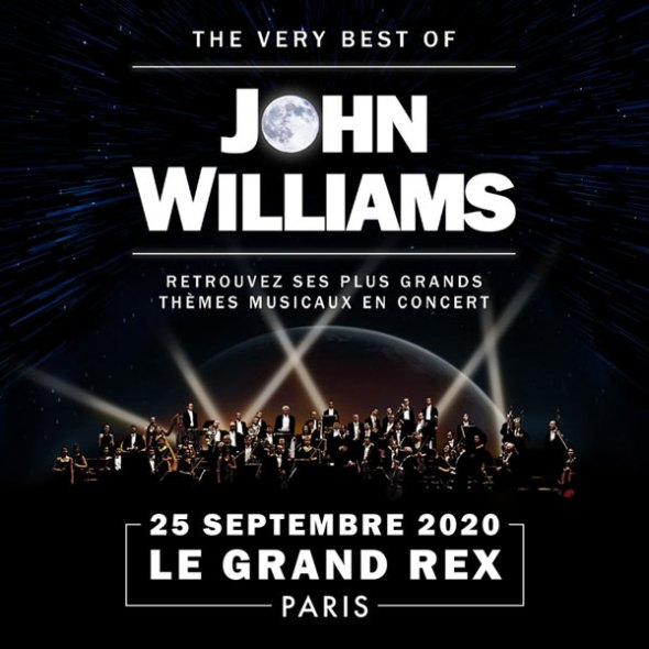 The very Best of John Williams au Grand Rex le 15 septembre 2020