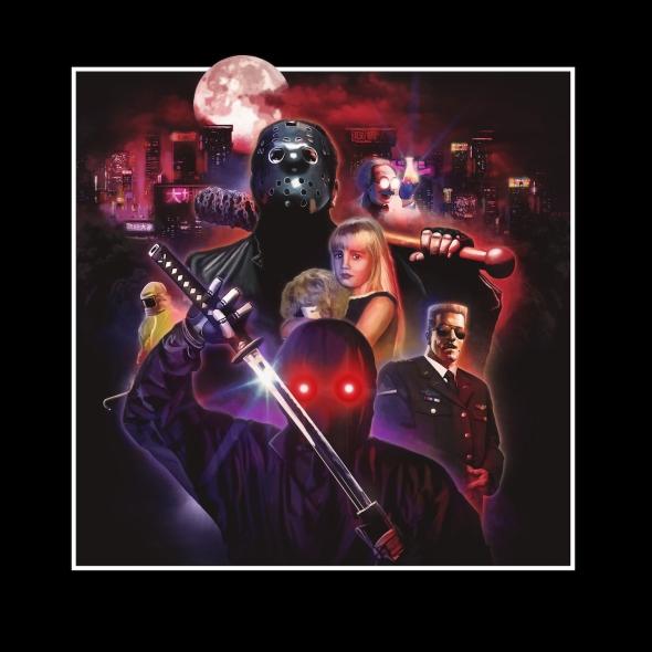 NINJA CYBORG / Psycho Panic / Clip Officiel