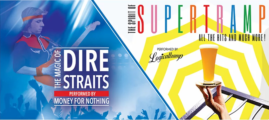 Rock Legends présente Supertramp & Dire Straits, la tournée Tribute