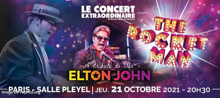 A tribute to Elton John, The Rocket Man, la tournée hommage démarre en France !